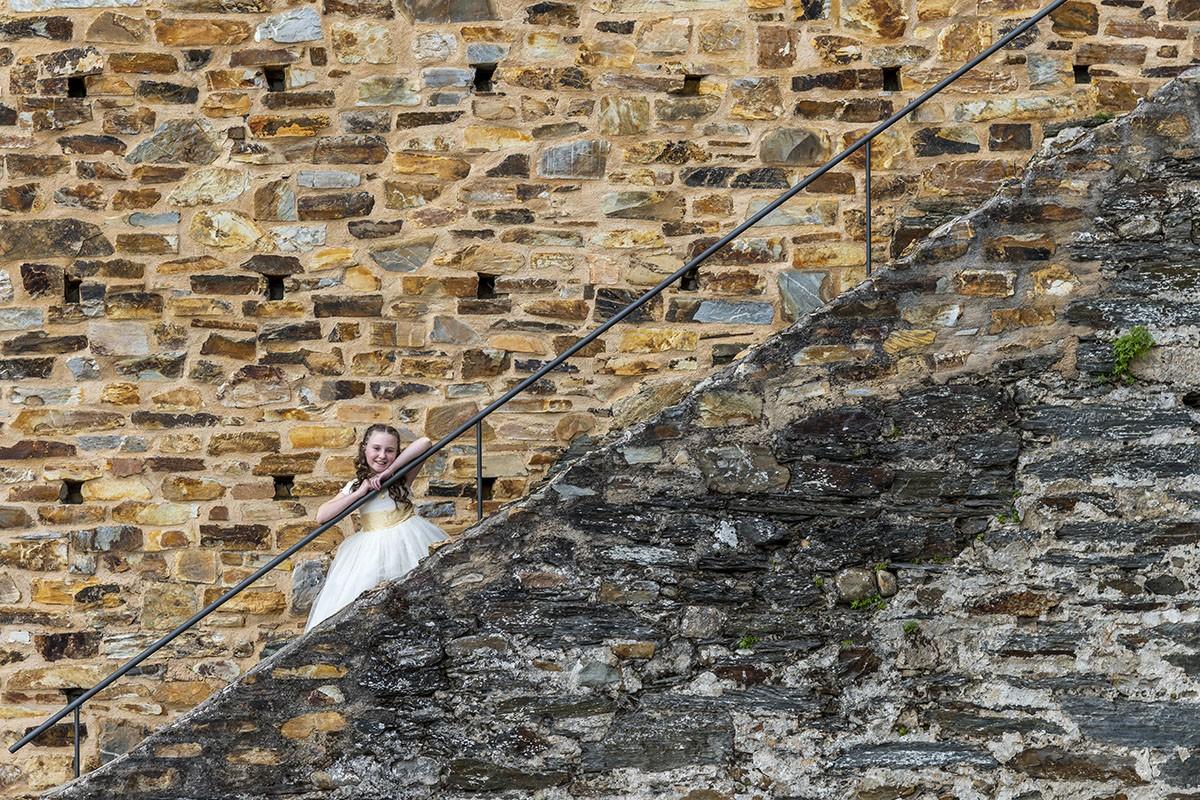 fotografo comunion ponferrada castillo templarios